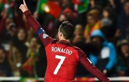 Cristiano Ronaldo lọt vào tốp 10 chân sút xuất sắc nhất mọi thời đại cho ĐTQG