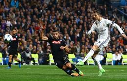 Lượt đi vòng 1/8 Champions League: Real Madrid thắng nhàn Napoli