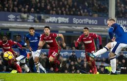 Rooney qua mặt Lampard, lọt top 3 kiến tạo Ngoại hạng Anh