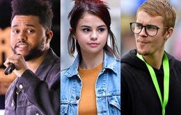 The Weeknd bối rối khi tình cũ đi chơi quá nhiều với Justin Bieber