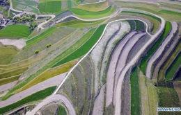 Ngắm những đồi ruộng bậc thang ngút ngàn ở Trung Quốc