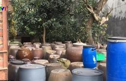 Hà Nội: Tổng lực truy tìm rượu không có xuất xứ