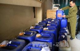 Hà Nội đình chỉ 40 cơ sở sản xuất rượu vi phạm