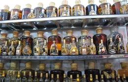Tràn lan rượu không tem mác trên thị trường
