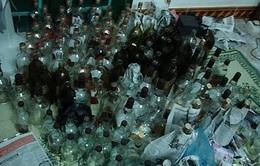 Tiêu hủy khoảng 200 tấn rượu lậu, rượu giả, rượu kém chất lượng