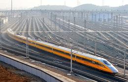 Trung Quốc khai trương tuyến đường sắt chở hàng nối với Anh