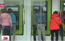 Hàng loạt cây ATM tại Hà Nội ngừng hoạt động