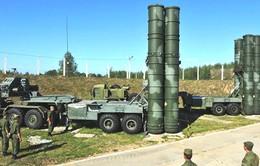 Nga đưa hệ thống tên lửa Triumph S-400 tới Crimea