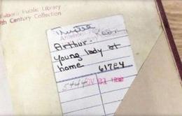 Cuốn sách được trả lại thư viện sau 78 năm