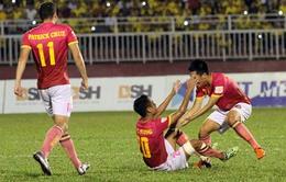 VIDEO: Tổng hợp diễn biến trận đấu CLB Long An 3-3 CLB Sài Gòn
