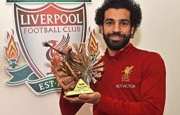 Qua mặt Aubameyang, Salah xuất sắc nhất châu Phi 2017