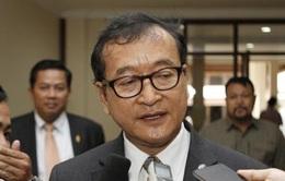 Tòa Phúc thẩm Campuchia tuyên y án đối với ông Sam Rainsy
