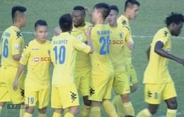 CLB Long An 1-5 CLB Hà Nội: Thắng đậm, nhà ĐKVĐ vươn lên ngôi đầu Giải VĐQG V.League 2017
