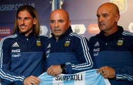HLV Jorge Sampaoli chính thức dẫn dắt ĐT Argentina