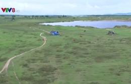 Hiểm nguy rình rập khi sản xuất giữa sông trong mùa mưa lũ