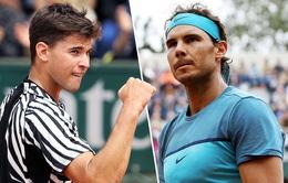 Lịch thi đấu bán kết Pháp mở rộng 2017 ngày 9/6: Nadal đối đầu Thiem, Murray đại chiến Wawrinka
