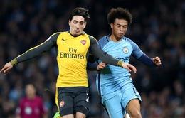 Những màn đua tốc độ nảy lửa trong trận Arsenal - Man City