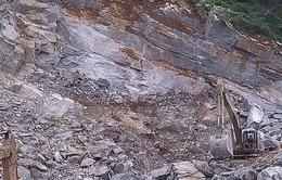 Nghệ An: Sập mỏ đá trắng tại Quỳ Hợp, 3 người thương vong