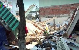 Sập nhà tại Bình Định, 1 người thiệt mạng
