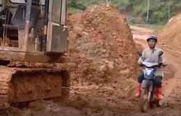 Cảnh báo sạt lở trên các tuyến đường tại Lâm Đồng
