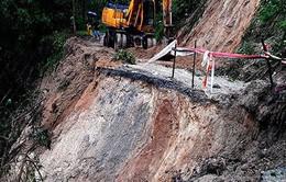 Quảng Ngãi tìm thấy thi thể nạn nhân bị sạt lở núi ở Nam Trà My