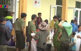 Quảng Nam khẩn trương ứng cứu người dân sau vụ sạt lở