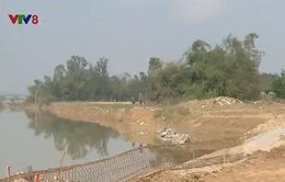 Sạt lở hàng trăm ha đất nông nghiệp vùng ven Đà Nẵng