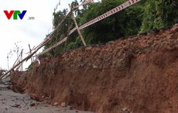 Sạt lở tuyến Quốc lộ 28B đoạn qua tỉnh Bình Thuận