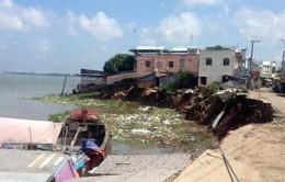 An Giang ban bố tình trạng khẩn cấp do sạt lở sông