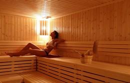 Tắm hơi không chỉ giúp thư giãn mà còn có lợi ích không ngờ