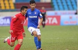 V.League 2017, vòng 2:  Quảng Nam 2-1 Hà Nội, Long An 1-1 B. Bình Dương, Than Quảng Ninh 2-0 TP HCM