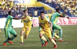 Vòng 8 V.League 2017, chiều 4/3: FLC Thanh Hoá 1-0 XSKT Cần Thơ, Sanna Khánh Hoà 1-0 Long An, HAGL 0-1 CLB TP. HCM