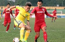 Vòng 8 V.League 2017: SLNA chia điểm phút cuối, CLB Hải Phòng giành 3 điểm trên sân không khán giả