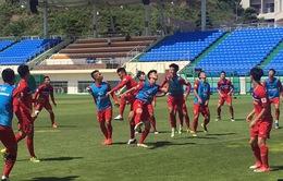 SEA Games 29: ĐT U22 Việt Nam tập buổi thứ 2 tại Hàn Quốc