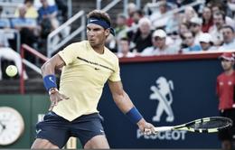 Vòng 2 Rogers Cup 2017: Nadal thắng áp đảo Coric