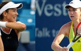 Cincinnati Open 2017: Halep và Mugurza vào chung kết đơn nữ