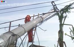 Quảng Bình: Nỗ lực khắc phục hệ thống điện lưới sau bão