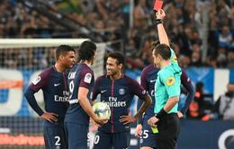 """Lộ án phạt dành cho Neymar sau tấm thẻ đỏ """"lịch sử"""""""