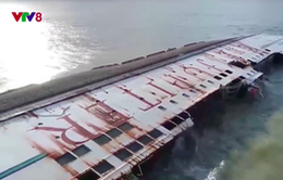 4 tàu chìm và mắc cạn ở Quy Nhơn đã có phương án trục vớt