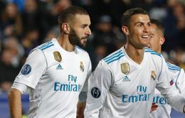 """C.Ronaldo, Benzema đồng loạt thoát cơn """"khô hạn"""", Real đang trở lại!"""