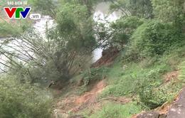 Hà Tĩnh: Sạt lở bờ sông nghiêm trọng