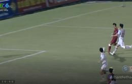 VIDEO: Việt Cường ghi bàn thắng đầu tiên cho U19 Việt Nam