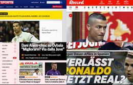 Báo chí châu Âu chấn động với việc Ronaldo đòi rời Real