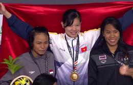 VIDEO SEA Games 29: Ánh Viên phá kỷ lục SEA Games, giành HCV 100m ngửa