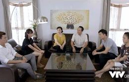 """Ngược chiều nước mắt - Tập 2: Chuyện khiến Mai (Phương Oanh) có thai bị vỡ lở, Sơn (Hà Việt Dũng) làm cả nhà """"náo loạn"""""""