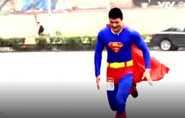 Không giới hạn - Sasuke Việt Nam 2017: Diện đồ siêu nhân, thí sinh này thu hút mọi ánh nhìn