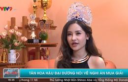 Hoa hậu Đại dương Việt Nam 2017 bác tin mua giải trên sóng VTV