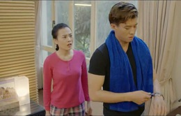 """Ngược chiều nước mắt - Tập 8: Hình như Mai (Phương Oanh) phát hiện ra Châu (Trang Cherry) """"đong đưa"""" chồng mình mất rồi!"""