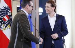 Đảng cực hữu Áo tham gia chính phủ sau gần 2 thập kỷ