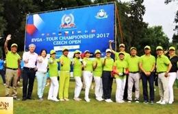 Hơn 300 golf thủ tham dự Giải golf Việt - Czech mở rộng 2017